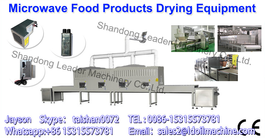 Food microwave drying sterilization equipment