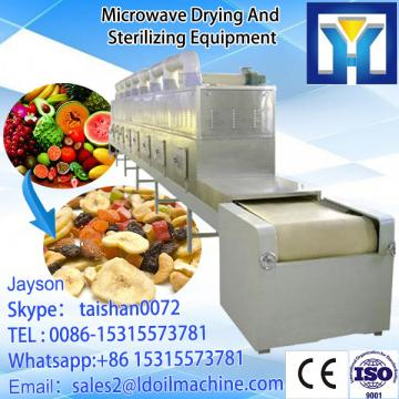 China supplier Industrial conveyor belt Microwave Dryer with Panasonic Magnetron