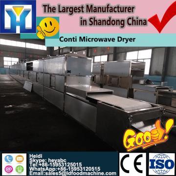 Semi-boiled Curcuma longa/turmeric microwave blanching machine