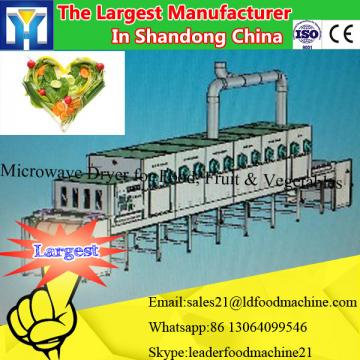 Microwave drying machine for food