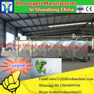 Meat products of microwave drying equipment
