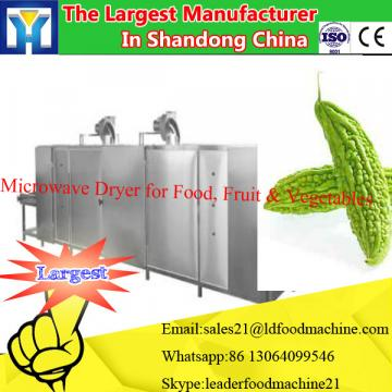 Continuous microwave ready food heat machine for ready food
