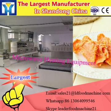 New design microwave vacuum dryer for peach slice