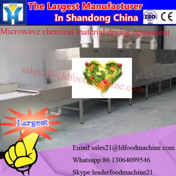 Spice and condiment industrial microwave dryer
