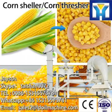 Small peeling and threshing machine for corn