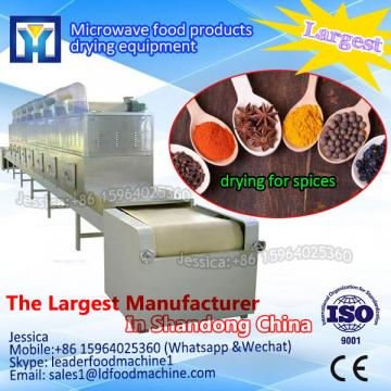 Automatic best price Turkey dried figs microwave sterilize machine