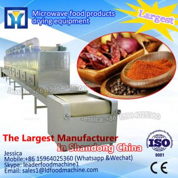 industrial conveyor belt type microwave oven for powder
