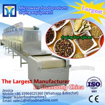 Stable performance beans microwave drying machine