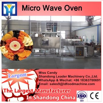 Industrial tunnel belt microwave dryer making machine