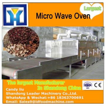 Industrial tea microwave dryer machine