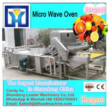 new condition CE certification chilli microwave drying machine