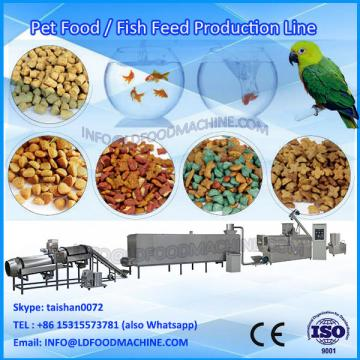 Factor price different output pet feed pellet processing line for dog fish cat LDrd