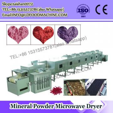 GRT Belt type stainless steel microwave drying machine for powder