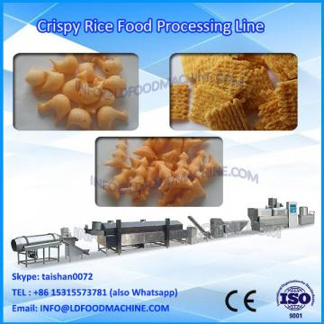 automatic extruded fried bugles wheat flour snacks extruder