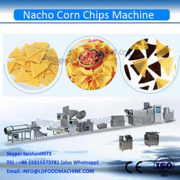 Puffed Automatic triangle shape Corn Chips make machinery
