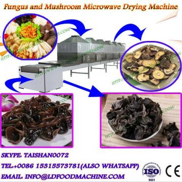 big capacity belt type microwave drying equipment for agaricus bisporus