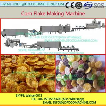 Small Capacity Extruded Stainless Steel Kellogs Corn Flakes Maker