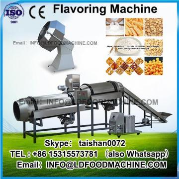 Tumbler drum flavoring machinery for potato chips