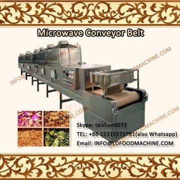 Hot able stainless steel industrial microwave drying machinery/pet food milkew sterilization