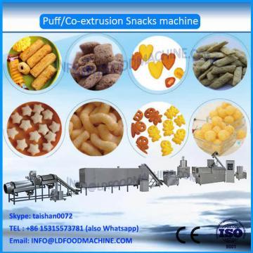2016 Fully automatic core filling  puffed food make machinery