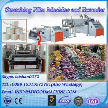 Pallet wrap film stretch extrusion machinery