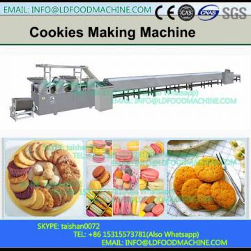 Encrusting and filling 2 color cookies machinery,color snack machinery