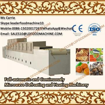 Full-automatic Mutton and Continuously Microwave Defrosting and Heating Machinery