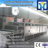 Tunnel microwave dryer / sterilization for yam flour
