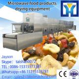 40KW high efficient tunnel type microwave drying equipment installed with conveyor belt