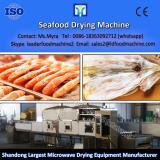High microwave quality desiccated coconut dryer / coconut fruit plum drying machine