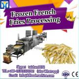 Automatic Frozen French Fries Production Line French fries line manufacturer