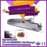 Microwave drying machine for cylinder paper