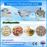 Mushroom Caramel Popcorn Continuous Production Line Large Capacity