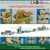 3D pellet corn starch pellet snacks food extrusion process line