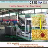 automatic frozen french fries processing  500 kg/h