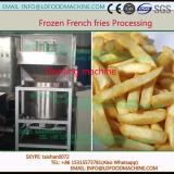 potato washing peeling machinery for IQF frozen french fries production line