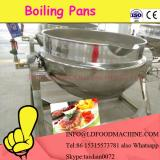 200L steam jacketed pot for soup