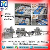 Frozen meat cutting machinery