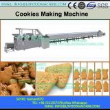 Automatic double colors with filling cookies encrusting machinery, colorful cookies machinery
