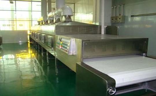 Seafood Microwave Drying Machine