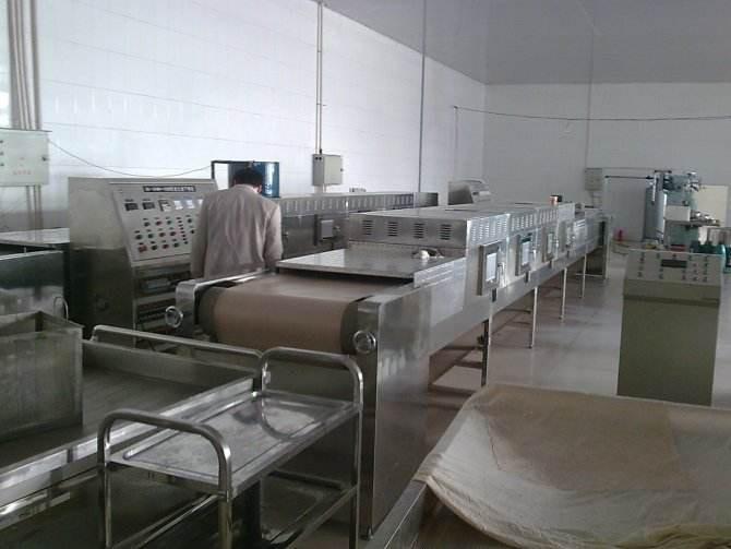 Feed Microwave Drying Machine