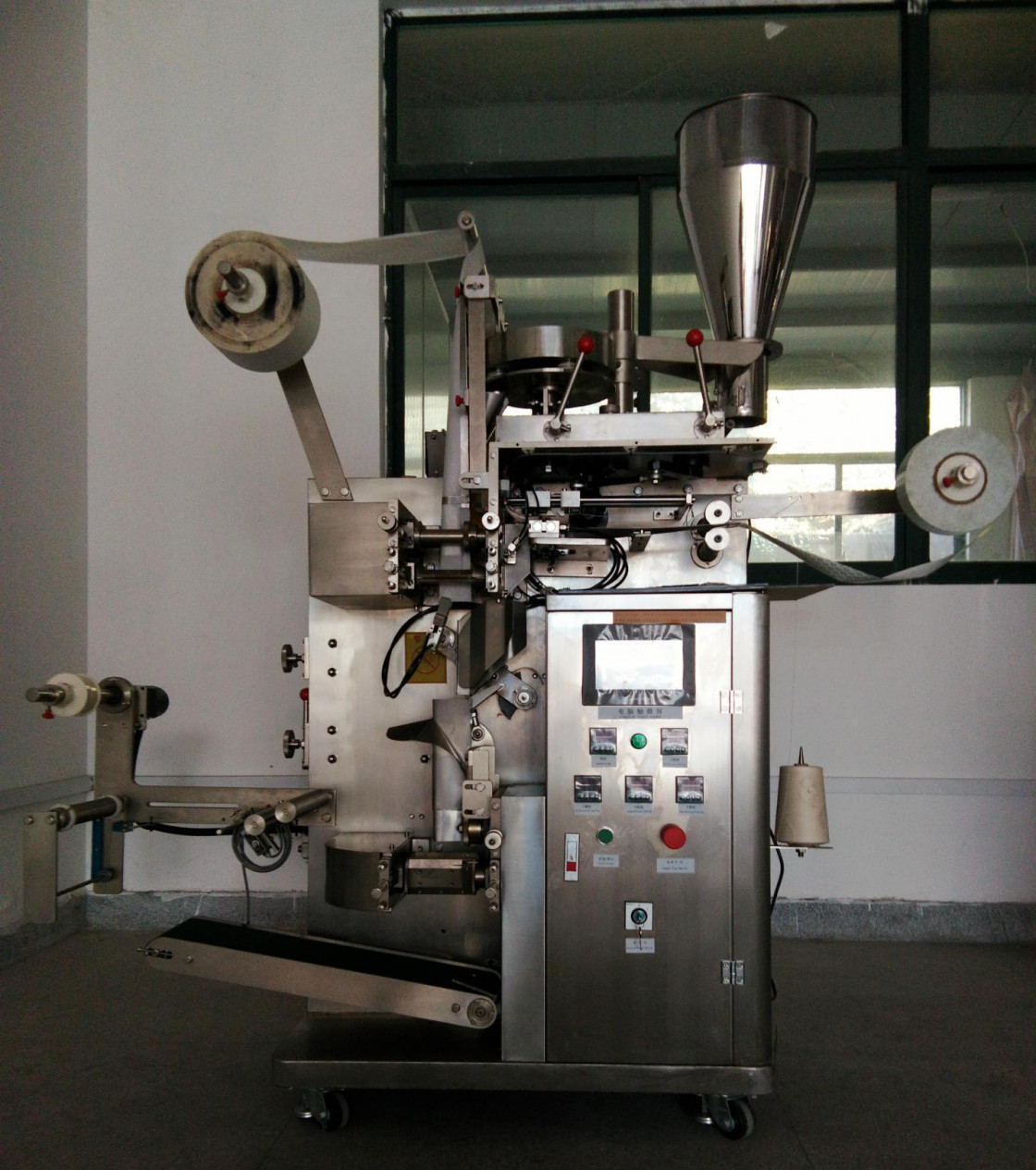 Tea Bag Microwave Sterilizer Packing Machine