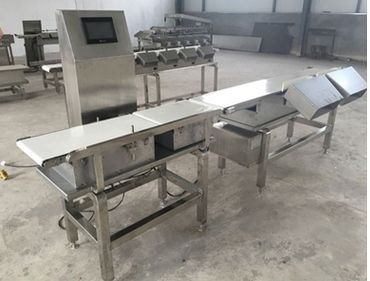 Lobster Shrimp Microwave Sterilizer Sorting Machine