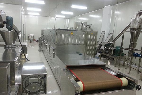 Baked Snacks Food  Microwave Sterilization Machine