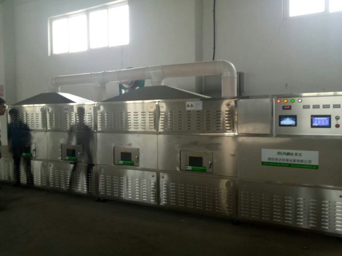Fast Food Microwave Sterilization Machines