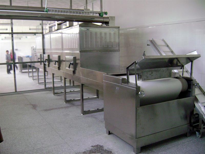 Puff Snack & Core-filled Snack Microwave Sterilization Machine
