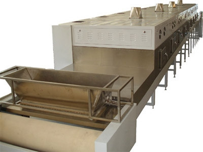 Puff/Co-extrusion Snacks Microwave Sterilization Machine