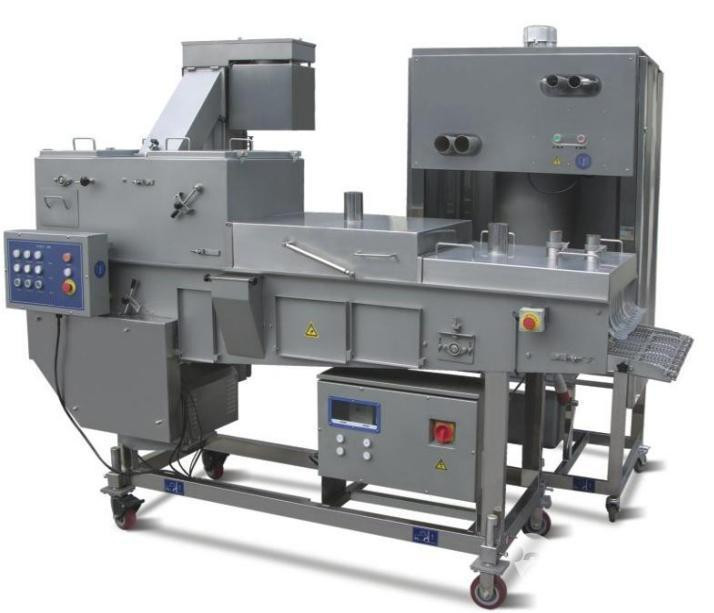 Meat Patty  Forming Microwave Sterilization Machine