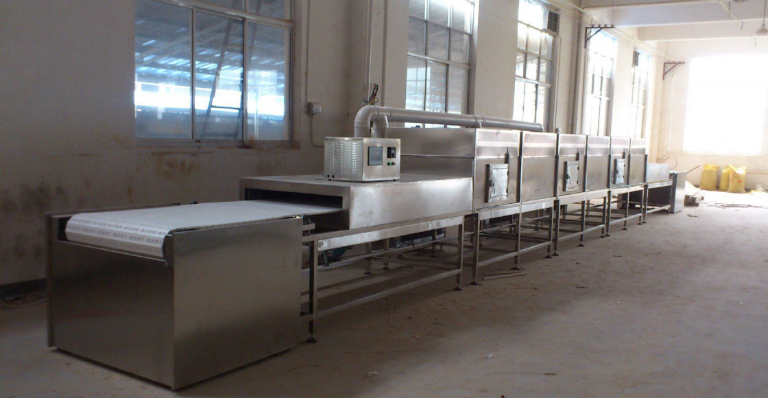 Cooling Microwave Sterilization Machine