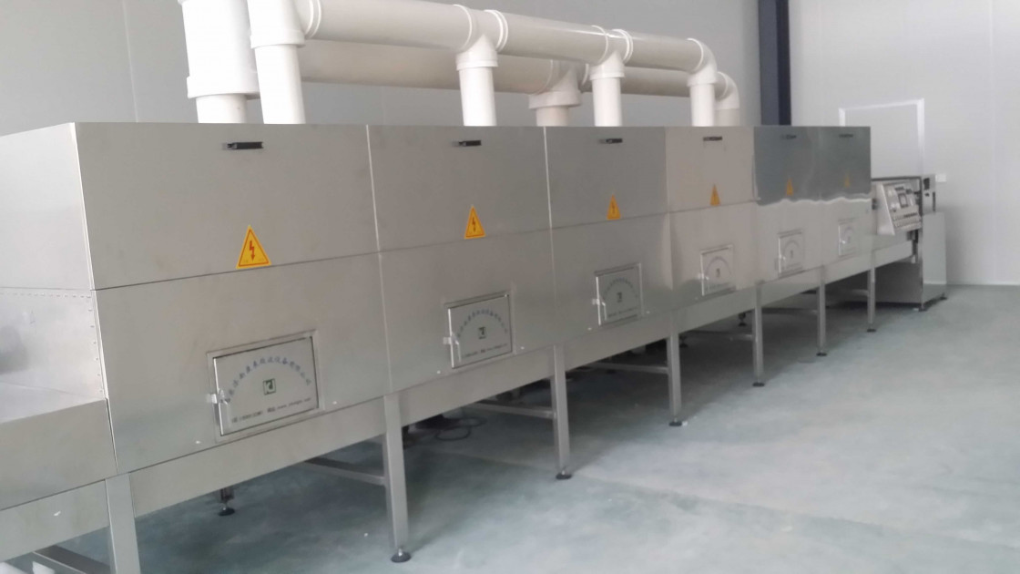 Constructional Material Microwave Dryer Machine